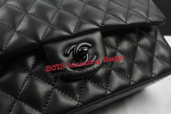 Chanel 2.55 Series Flap Bags Original Sheepskin Leather A1112 Black