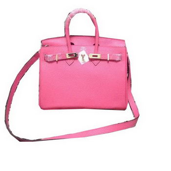 Hermes Birkin 25CM Tote Bag Original Leather H25 Pink