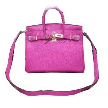 Hermes Birkin 25CM Tote Bag Original Leather H25 Rose