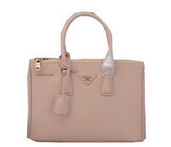 Prada Saffiano Leather Tote Bag PBN1801 Light Pink