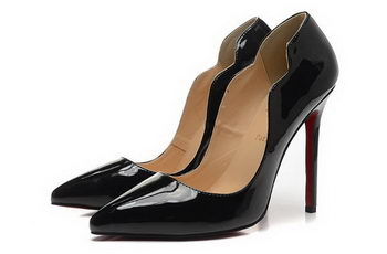 Christian Louboutin 120mm Pump Patent Leather CL1485 Black