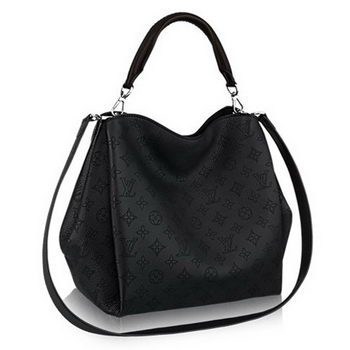 Louis Vuitton Mahina Leather Babylone PM M50031 Noir