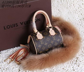 Louis Vuitton Monogram Canvas Speedy mini Tote Bags M41398