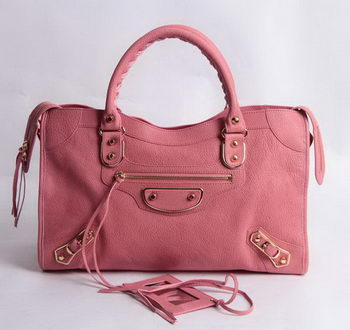 Balenciaga Large Classic Part Time Bags B085332 Pink