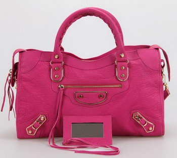 Balenciaga Large Classic Part Time Bags B085332 Rose