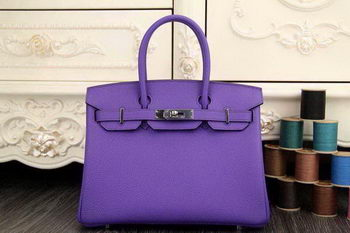 Hermes Birkin 35CM 30CM Tote Bag Original Leather HB35O Lavender