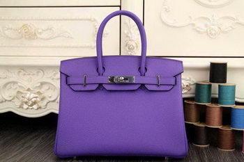 Hermes Birkin 35CM 30CM Tote Bag Original Leather HB35O Lavender