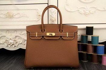 Hermes Birkin 35CM 30CM Tote Bag Original Leather HB35O Wheat