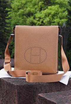 Hermes Messenger Bag Original Calf Leather H80014 Wheat