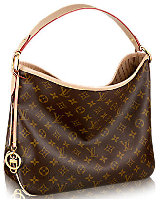 Louis Vuitton Monogram Canvas DELIGHTFUL MM M50156 Beige
