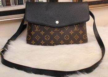 Louis Vuitton Monogram Canvas TWINSET M51885 Black