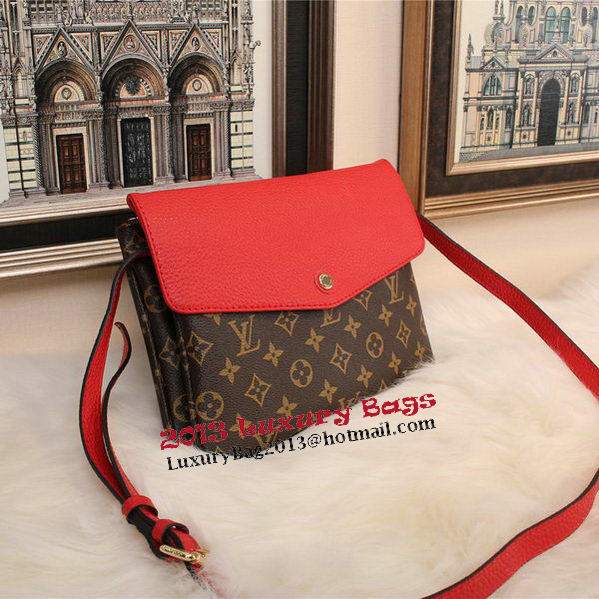 Louis Vuitton Monogram Canvas TWINSET M51885 Red