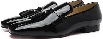 Christian Louboutin Casual Shoes Patent Leather CL900 Black