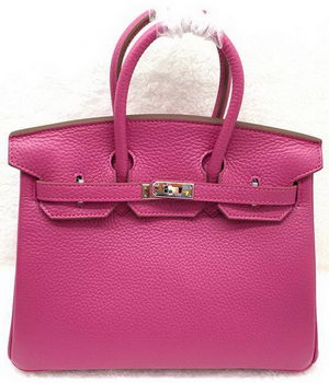 Hermes Birkin 25CM Tote Bag Original Leather H25T Rose