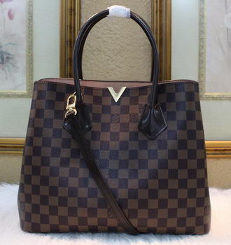Louis Vuitton N41435 Damier Ebene Canvas KENSINGTON Bag