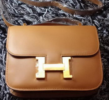 Hermes Constance Bag Smooth Leather H9998S Wheat