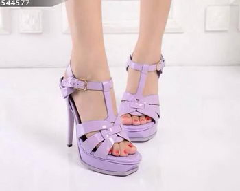 Yves Saint Laurent 130mm Pump Sandals YSL248LWR Lavender