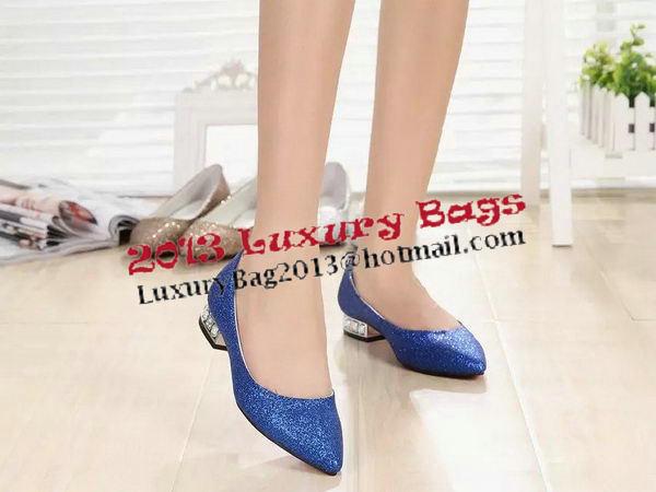 Chanel Diamond Flat CH1307 Blue