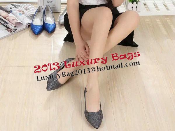 Chanel Diamond Flat CH1307 Grey