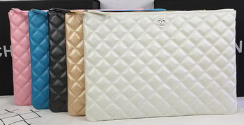 Chanel Clutch Bag Original Sheepskin Leather A69254 A69253