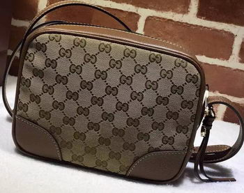 Gucci Bree Original GG Canvas mini Messenger Bag 387360 Brown
