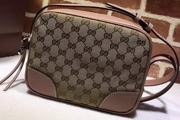 Gucci Bree Original GG Canvas mini Messenger Bag 387360 Camel