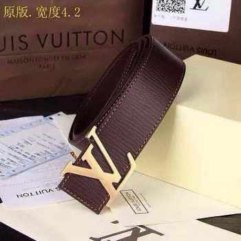 Louis Vuitton Belt LV0048 Brown