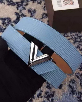 Louis Vuitton Belt LV0144 SkyBlue
