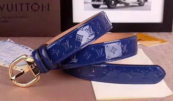 Louis Vuitton Belt LV4694A Blue