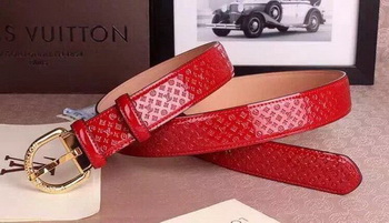Louis Vuitton Belt LV4694A Red