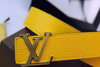 Louis Vuitton Belt LV5767G Yellow