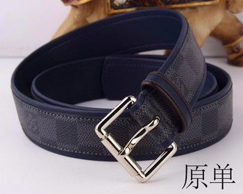 Louis Vuitton Damier Graphite Canvas Belt LV5457