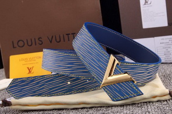 Louis Vuitton ESSENTIAL V Belt LV4809G Blue