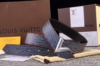 Louis Vuitton ESSENTIAL V Belt LV4809S Blue