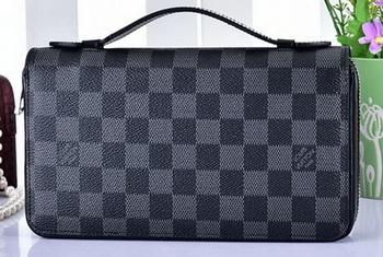 Louis Vuitton Damier Gaphite Canvas ZIPPY XL WALLET N41503