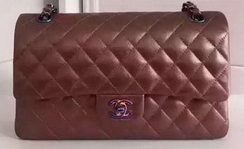 Chanel 2.55 Series Flap Bag Original Deer Leather A1112 Bronze