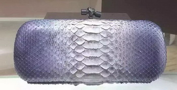 Bottega Veneta Snake Leather Knot Clutch 8651C