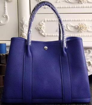 Hermes Garden Party 36cm 30cm Tote Bag Original Leather Royal