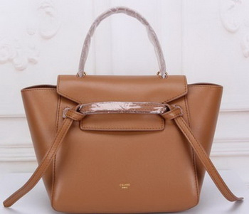 Celine mini Belt Bag Original Leather C3320 Wheat