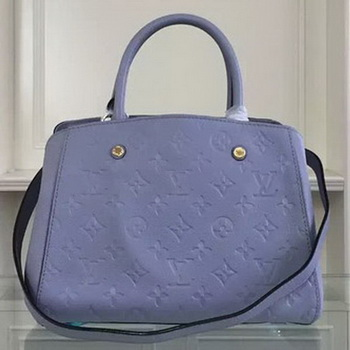 Louis Vuitton Monogram Empreinte MONTAIGNE BB Bag M50665 Lavender