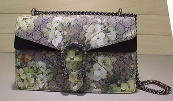 Gucci Dionysus GG Supreme Shoulder Bag 400249 Green
