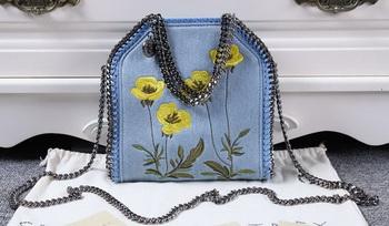 Stella McCartney Falabella Denim Bag SMC8956 Blue