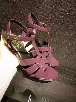 Yves Saint Laurent 20mm Platform 130mm Sandal YSL305 Rose