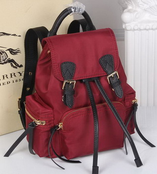 Burberry Backpack Fabric BU40166 Red