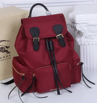 Burberry Large Backpack Fabric BU41048 Red