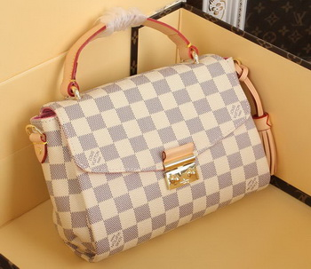 Louis Vuitton N41581 Damier Azur Canvas CROISETTE Bag