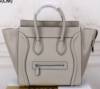 Celine Luggage Mini Tote Bag Original Leather CLY33081L Grey