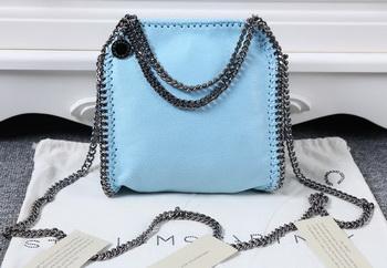 Stella McCartney Falabella Denim Bag SMC895 Light Blue