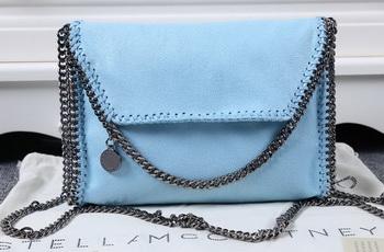 Stella McCartney Falabella PVC Cross Body Bags SM875 Light Blue