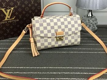 Louis Vuitton Damier Azur Canvas CROISETTE Shoulder Bag N41581